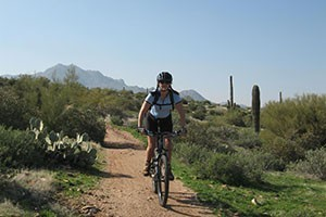 Rim Mountain Bike Tours :: Winter mountain biking tours! Arizona's Sonoran Desert is the perfect place & ride with the best outfitter providing multi-day, camping based winter cycling tours in the sun!