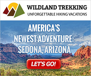 Wildland Trekking - new Sedona Adventures : World famous for its spectacular red rock cliffs, buttes, towers and canyons; rich natural and cultural history; charming spring-fed desert creeks; and awe-inspiring high desert scenery, Sedona is nearly as famous as the Grand Canyon, and justifiably so! We have a trip for everyone.