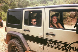 Sedona Off Road Rentals - kids love the feeling :: MYE Jeep is an off-road rental company based out of Sedona AZ offering an expedition lifestyle experience catered towards your adventurous side. Try our self-guided tours.