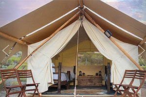 Under Canvas Tucson   Luxury Tent Camping