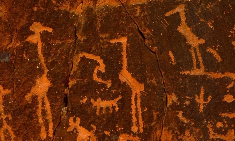 Petroglyphs at V Bar V Ranch in Sedona