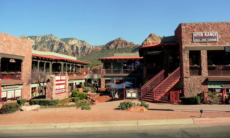 Historic Uptown Sedona Arizona Alltrips