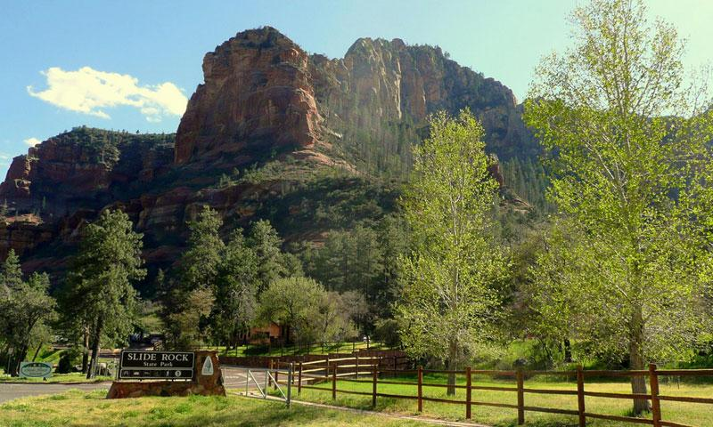Slide Rock State Park Sedona Arizona Alltrips
