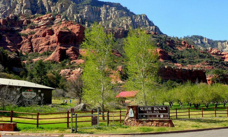 Slide Rock State Park Sedona Arizona Alltrips