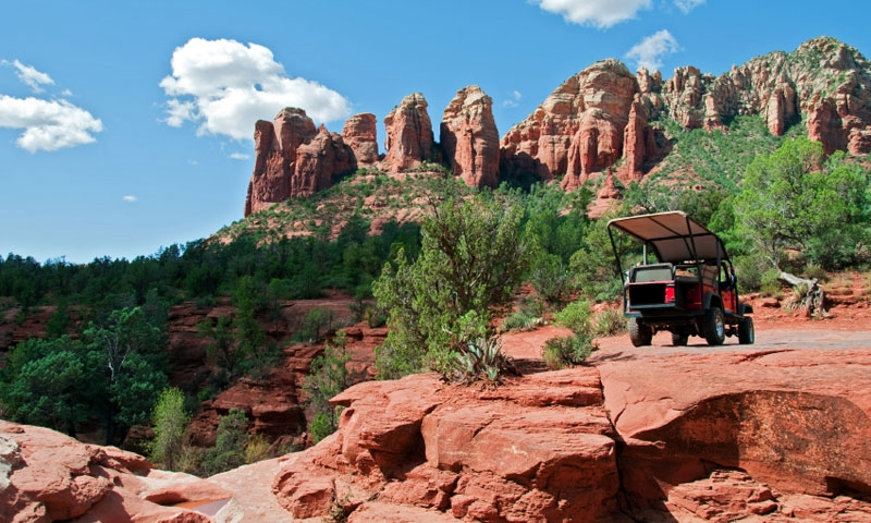 ATVing in Sedona