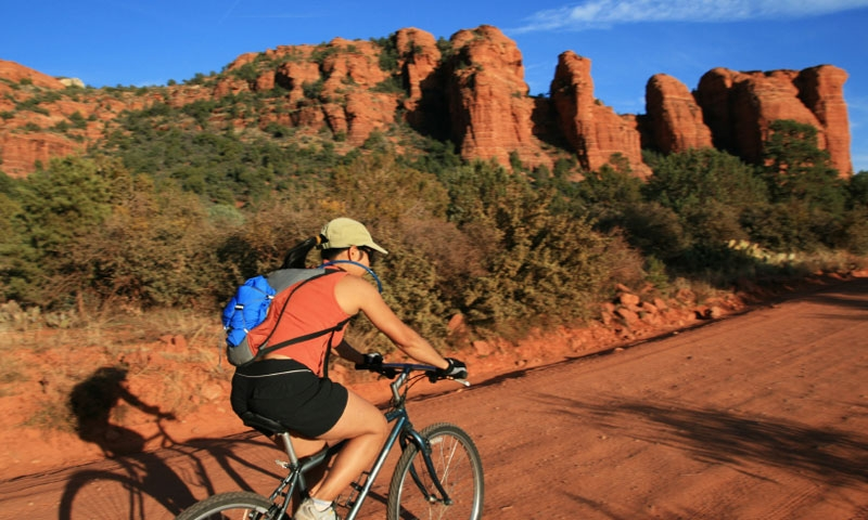 Biking in Sedona