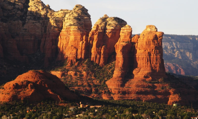 Coffee Pot Rock In Sedona Arizona Alltrips