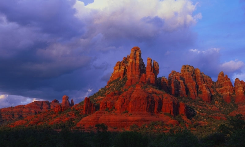 Snoopy Rock in Sedona