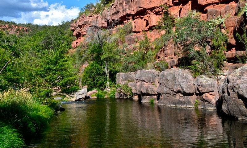 Oak creek arizona fishing camping boating alltrips for Camping and fishing in arizona