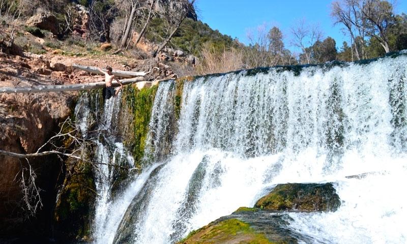 Fossil Springs Waterfalls Sedona Arizona Hiking Trail
